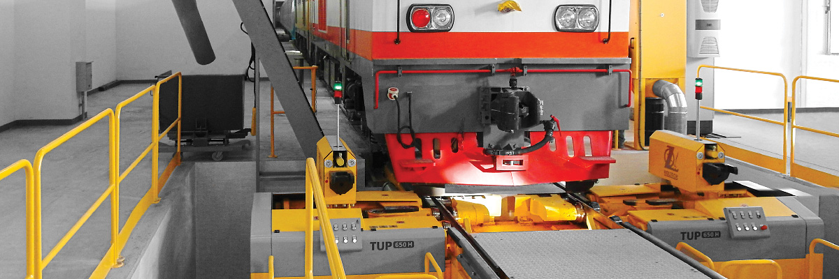 KOLTECH Under Floor Wheel Lathes by Unique Rail